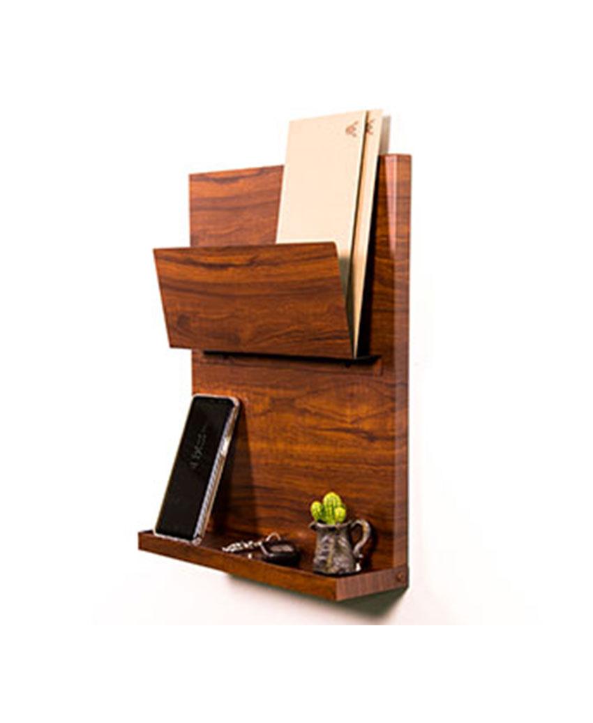 wall shelf ลายไม้